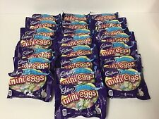 New listing 22 X bags 1.5 oz Cadbury Milk Chocolate Candy Coated Mini Eggs Bb 2/20.Total33oz
