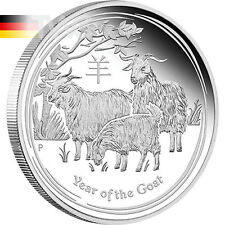 Australia 2015 1$ Year of the Goat Lunar Series II 2015 1oz Proof Silver Coin