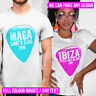 Personalised T Shirt Any Text or Image Your Custom Design Printed Stag Hen Do