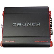 Crunch PX20001D Px Series 2000w D-class Amplifier