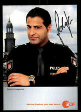 Serhat Cokgezen Notruf Hafenkante Autogrammkarte Original Signiert ## BC 45479