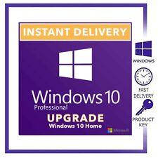 Windows 10 Home to Pro Upgrade key - Windows 10 Home Upgrade Key