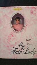 1995 Mattel 15501 Barbie as ELIZA DOOLITTLE Doll My Fair Lady Audrey Hepburn