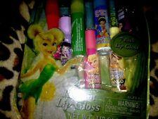 Girls Disney Fairy 7 Pack Lip Gloss