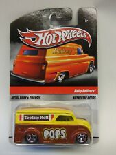2010 Hot Wheels SWEET RIDES DAIRY DELIVERY ...TOOTSIE ROLL POPS