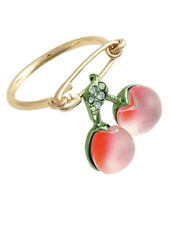 New ALEXIS BITTAR cherry ring Crystal Ring Size 7