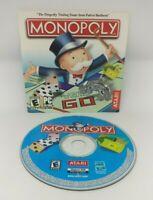 Monopoly PC CD ROM Computer Video Game Atari Interactive General Mills