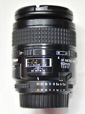 !!!!PRICE REDUCTION!!!    NIKON LENS NIKON AF MICRO NIKKOR 60MM 1:2.8 D