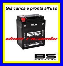 Batteria moto BS SLA Gel HONDA TRANSALP 600 88>89 carica pronta x uso 1988 1989