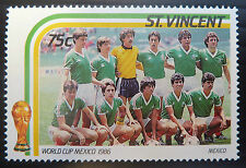St Vincent and Grenadines Football Stamps