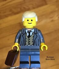 LEGO Businessman Executive Manager Partner Rare Rumpled Look Torso w/ Vest & Tie