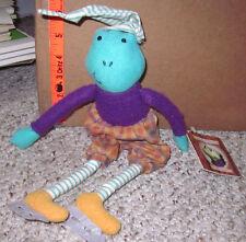 FRITZ FROG plush doll Storybook Friends stuffed animal Crayola w/ tags 1985