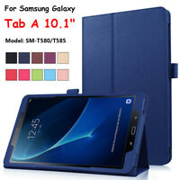 Stand Tablet Cover Case Smart Leather For Samsung Galaxy Tab A 10.1 T580 T585