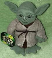 Star Wars Buddies Yoda Soft Plush Toy 1997 New With Tags