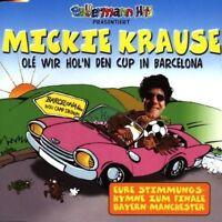 Mickie Krause Olé wir hol'n den Cup in Barcelona [Maxi-CD]