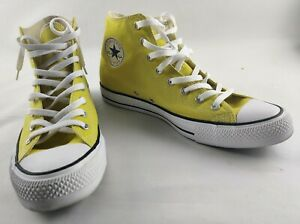 Converse Unisex Chuck Taylor All Star HIGH TOP Shoes Bold Citron 163353F 12 M