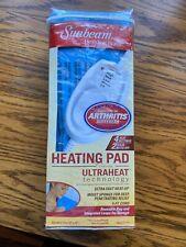 Sunbeam Heating Pad   Standard Size 12 x 15, UltraHeat, 3 Heat Settings, New!