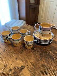 Japanese lusterware tea set