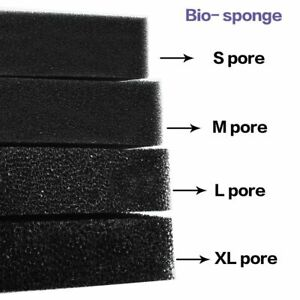 Sponge Bio Cotton Filter Aquarium Fish Tank Pond Foam Sponge Filter Cut to fit