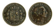 pcc1813_5)  SPAGNA SPAIN 5 Centimos 1878 ( bronze)