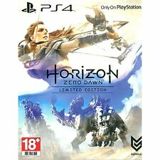 HORIZON ZERO DAWN Limited Edition PS4 (euro) !!! Rare !! worldwide shipping !!