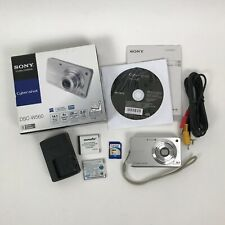 Sony Cyber-Shot DSC-W560 14.1MP Point & Shoot Digital Camera Tested Working