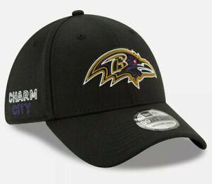Large / XL -- Baltimore Ravens New Era NFL Charm City 39THIRTY Flex Hat cap L/XL