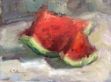 """Original Impressionism Daily Oil Painting Still Life  9""""x12"""" Artist Signed"""