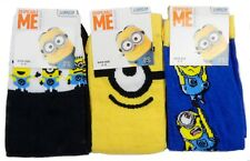 Kids Minions Socks Size Shoe 4-8 Years Ideal Older Boy Girl or Ladies