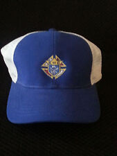 Trucker Cap with the Knights of Columbus logo on the Front Panel