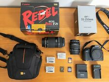 Canon EOS Rebel T2i / EOS 550D Digital SLR Camera with 2 Zoom Lens 18-55, 55-250