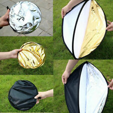 """23""""160cm 5 in 1 Photography Studio Multi Photo Disc Collapsible Light Reflector"""