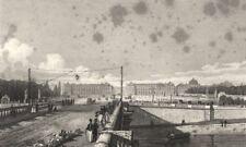 PARIS. Place de Louis XV, taken from the Bridge 1831 old antique print picture