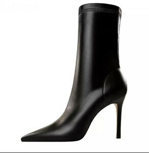 High Quality Soft Faux Leather Boots