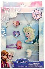 Disney Frozen Elsa Hair Accessories Jewelry Set & Hand Soap Stocking Stuffer