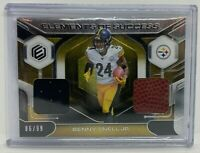 Benny Snell Jr Rookie Steelers 2019 Elements of Success Jersey Patch Ball /99 RC