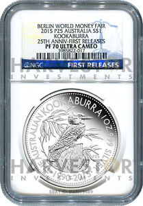2015 BERLIN WORLD MONEY FAIR SPECIAL - NGC PF70 FIRST RELEASES - ONLY 24 EXIST !