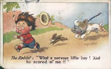 More details for donald mcgill 1918 inter art co comique 1548 dog chasing rabbit chasing boy