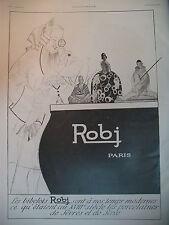 PUBLICITE DE PRESSE ROBJ BIBELOTS ARTS DECORATIFS ILLUSTRATEUR POLACK AD 1924