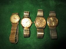 """New listing 4 working? Self-winding watches """"sold as is"""", all Items as is Shown in photos"""