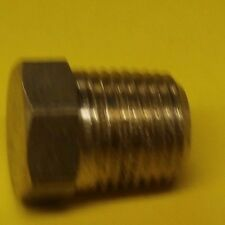 "EDELMAN 20920 1/8"" NPT MALE HEX  BRASS PLUG"