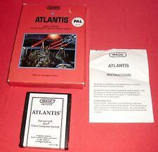 Atari 2600 Atlantis [White Label PAL] NO 7800 Amiga ST*JRF*