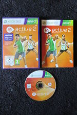 XBOX 360 : EA ACTIVE 2 PERSONAL TRAINER - Completo, ITA ! Il fitness a casa !