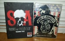 ~ SONS OF ANARCHY ~ DVD Sets - Season 1 and Season 5 ~ NEW & SEALED