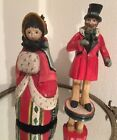 House Of Hatten 12 Victorian Carolers Set 2 On Christmas Day Denise Calla 1991