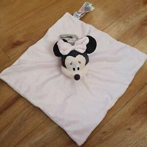 BNWT Primark Minnie Mouse Comforter Blanket Pink Blanket Soft Toy Disney Plush