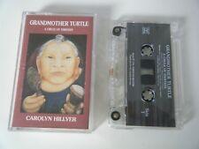 CAROLYN HILLYER GRANDMOTHER TURTLE CASSETTE TAPE SEVENTH WAVE UK 1994
