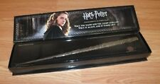 Harry Potter Hermione Granger's Wand With Illuminating Tip in Box **READ**