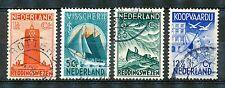 Nederland  257 - 260 gebruikt (2)