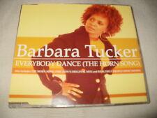 BARBARA TUCKER - EVERYBODY DANCE - POSITIVA HOUSE CD SINGLE
